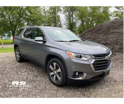 2018 Chevrolet Traverse for sale at RS Motors in Falconer NY