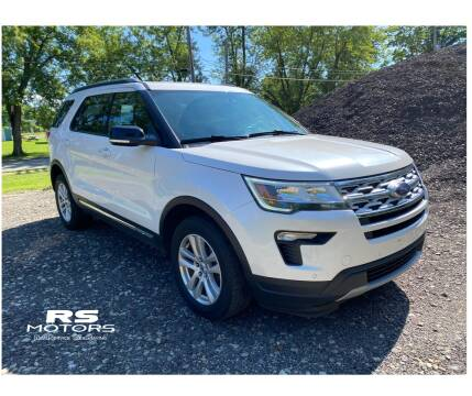 2018 Ford Explorer for sale at RS Motors in Falconer NY