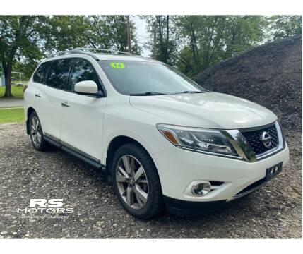 2014 Nissan Pathfinder for sale at RS Motors in Falconer NY