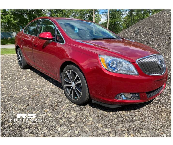2017 Buick Verano for sale at RS Motors in Falconer NY