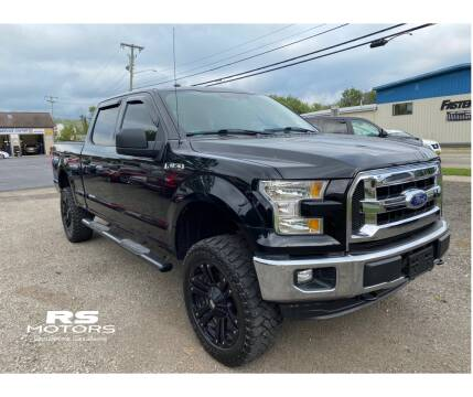 2016 Ford F-150 for sale at RS Motors in Falconer NY