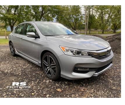 2017 Honda Accord for sale at RS Motors in Falconer NY