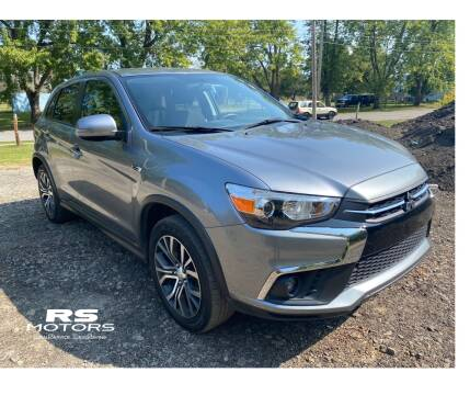 2018 Mitsubishi Outlander Sport for sale at RS Motors in Falconer NY