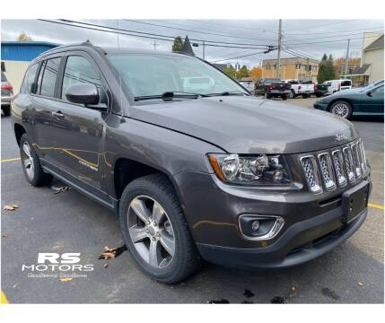 2017 Jeep Compass for sale at RS Motors in Falconer NY