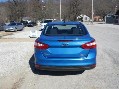 2013 Ford Focus SE & Used Cars Fenton Car Loans Jefferson City MO Fenton MO Grateful Motors markmcfarlin.com