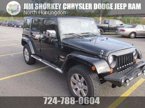 2012 Jeep Wrangler Unlimited for sale in Irwin, PA