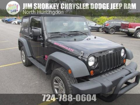 2009 Jeep Wrangler for sale in Irwin, PA