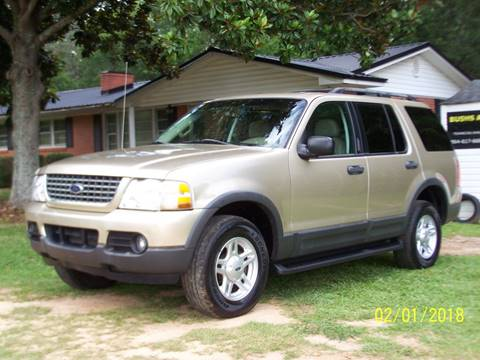 2003 Ford Explorer for sale at Bushs Auto Sales in Williamston SC