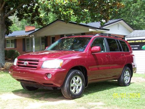 2004 Toyota Highlander for sale at Bushs Auto Sales in Williamston SC