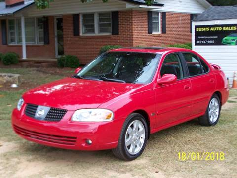 2005 Nissan Sentra for sale at Bushs Auto Sales in Williamston SC