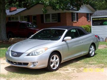 2005 Toyota Camry Solara for sale at Bushs Auto Sales in Williamston SC