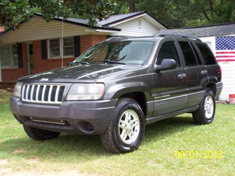 2004 Jeep Grand Cherokee for sale at Bushs Auto Sales in Williamston SC