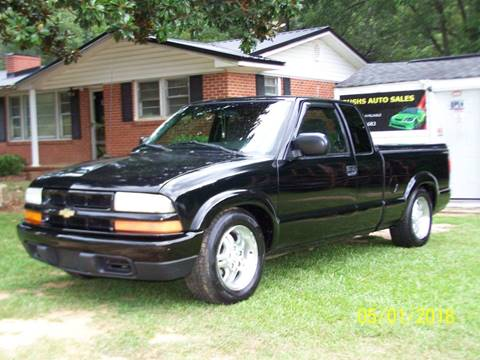 2002 Chevrolet S-10 for sale at Bushs Auto Sales in Williamston SC
