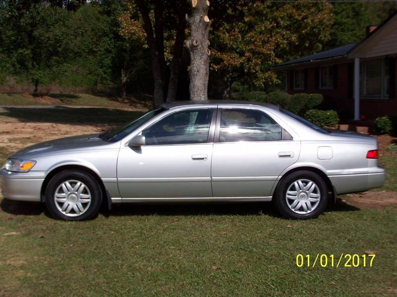 Awesome 2001 Toyota Camry For Sale At Bushs Auto Sales In Williamston SC