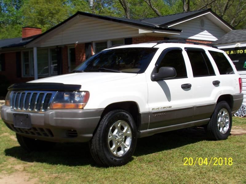 2000 Jeep Grand Cherokee For Sale At Bushs Auto Sales In Williamston SC