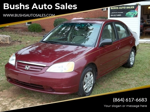 2003 Honda Civic for sale in Williamston, SC