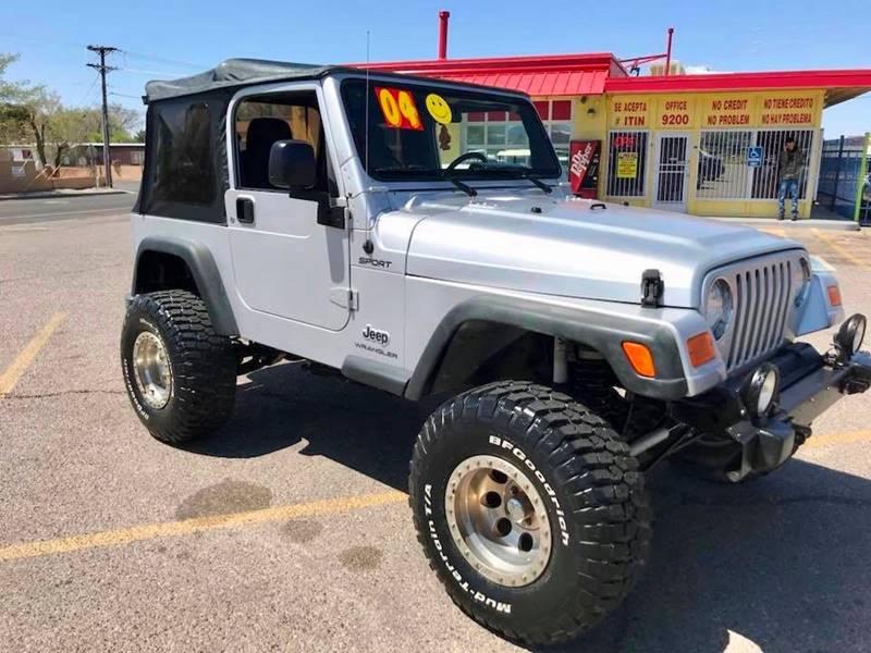 2004 Jeep Wrangler Sport 4WD 2dr SUV   Albuquerque NM