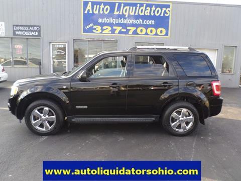 2008 Ford Escape for sale in North Ridgeville, OH