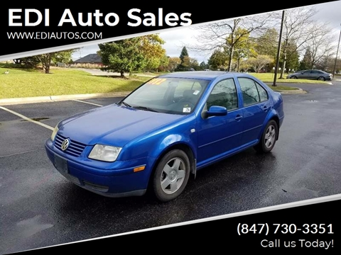 2001 Volkswagen Jetta for sale at EDI Auto Sales in Glenview IL