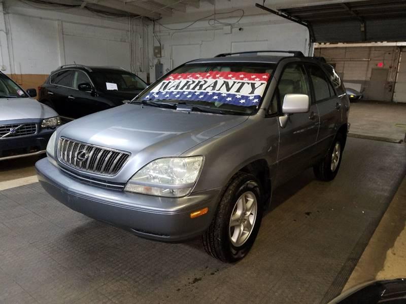 2002 Lexus RX 300 for sale at EDI Auto Sales in Glenview IL