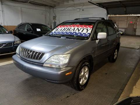 2002 Lexus RX 300 for sale at EDI Auto Sales in Glenview IL