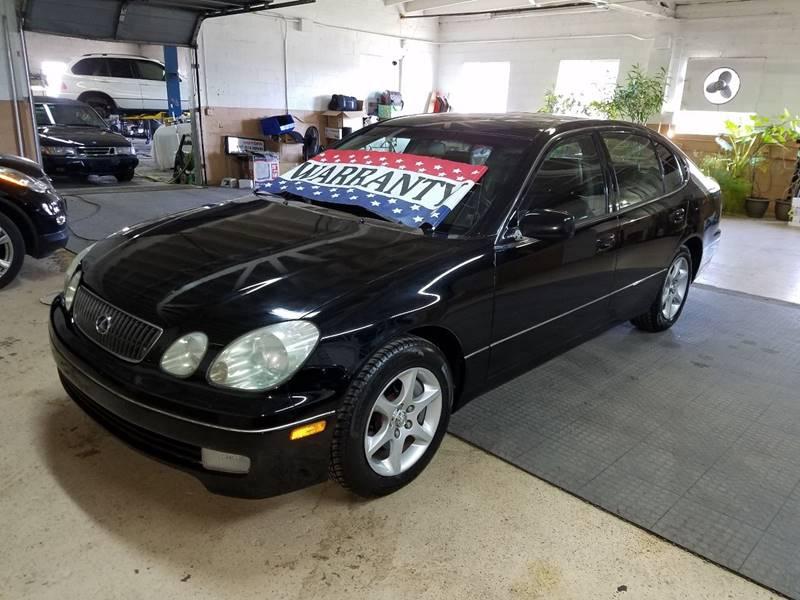 2001 Lexus GS 300 for sale at EDI Auto Sales in Glenview IL