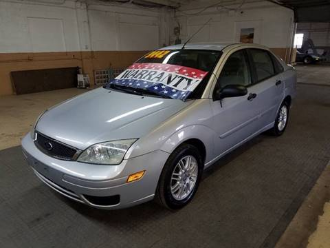 2006 Ford Focus for sale at EDI Auto Sales in Glenview IL