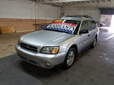 2004 Subaru Outback for sale at EDI Auto Sales in Glenview IL