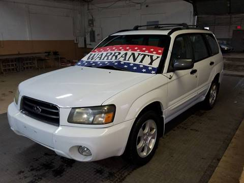 2004 Subaru Forester for sale at EDI Auto Sales in Glenview IL