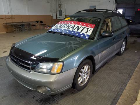 2001 Subaru Outback for sale at EDI Auto Sales in Glenview IL