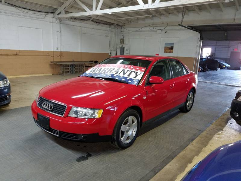 2004 Audi A4 for sale at EDI Auto Sales in Glenview IL