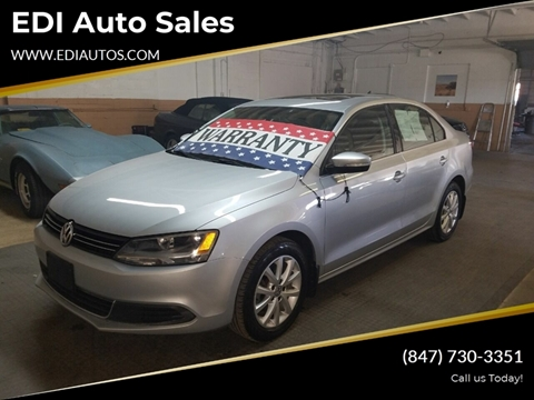 2013 Volkswagen Jetta for sale at EDI Auto Sales in Glenview IL