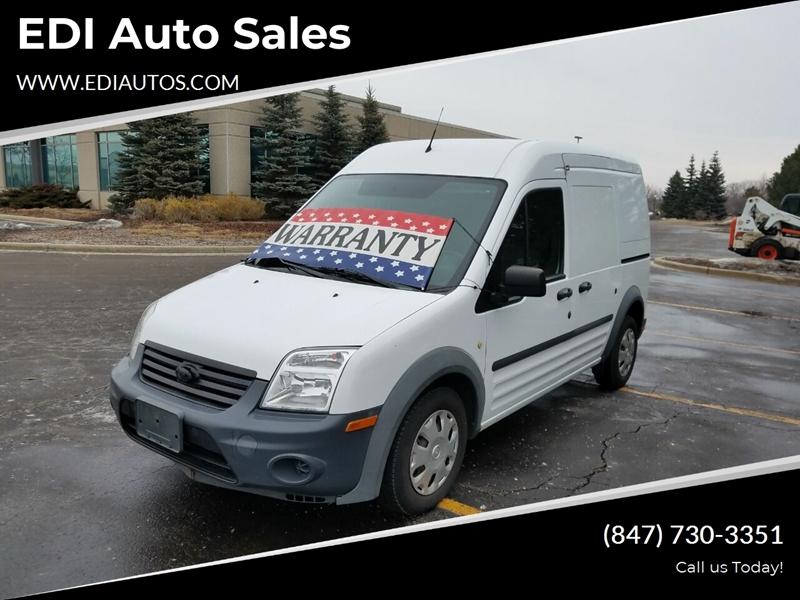 2013 Ford Transit Connect for sale at EDI Auto Sales in Glenview IL