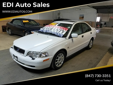 2004 Volvo S40 for sale at EDI Auto Sales in Glenview IL