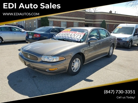 2003 Buick LeSabre for sale at EDI Auto Sales in Glenview IL