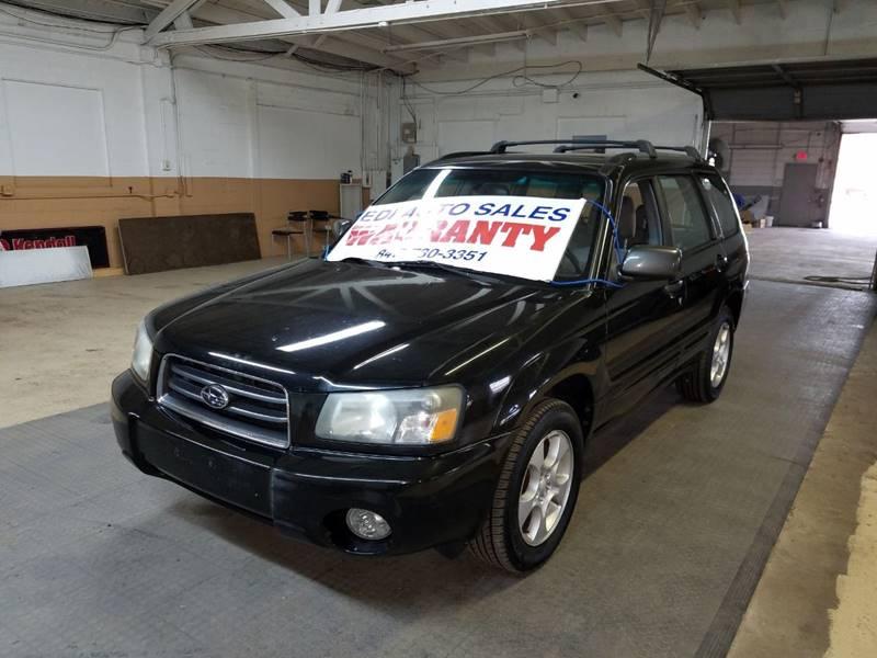 2004 Subaru Forester for sale at EDI Auto Sales in Glenview IL