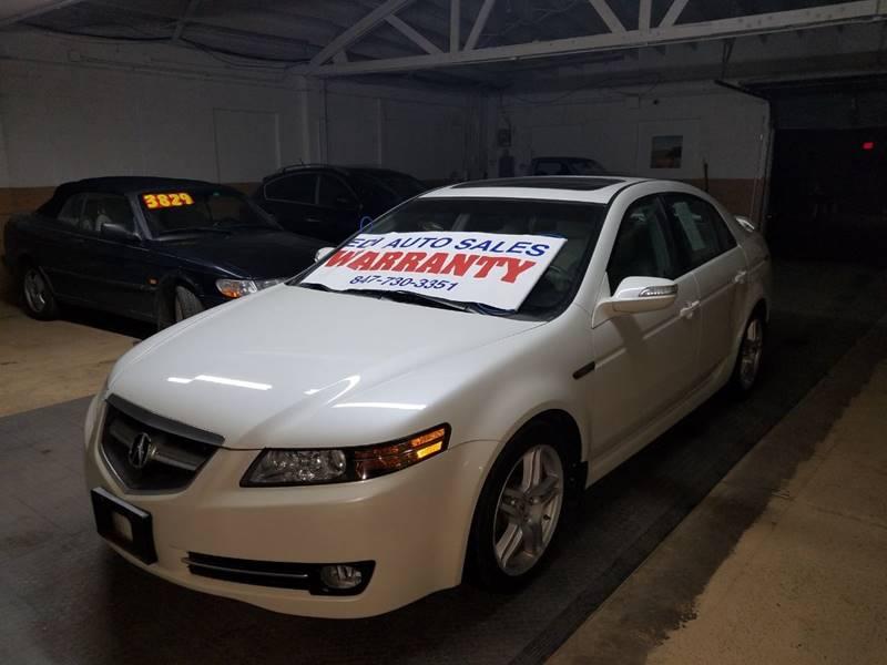 2007 Acura TL for sale at EDI Auto Sales in Glenview IL
