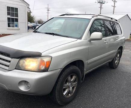 Toyota Highlander For Sale Carsforsalecom - 2004 highlander