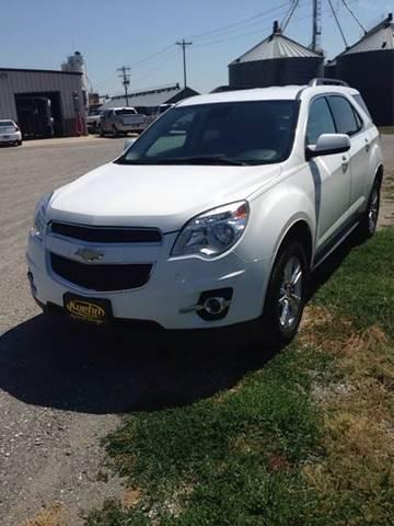 2013 Chevrolet Equinox for sale at KUEHN AUTO SALES in Stanton NE