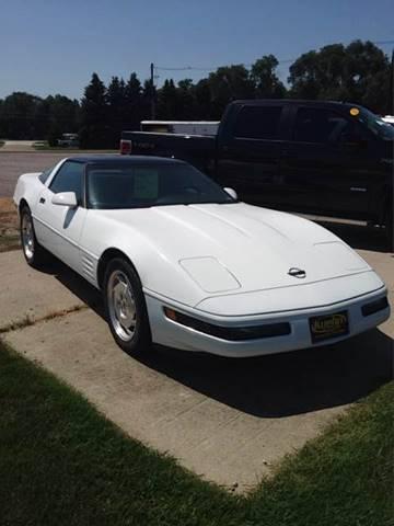 1994 Chevrolet Corvette for sale at KUEHN AUTO SALES in Stanton NE