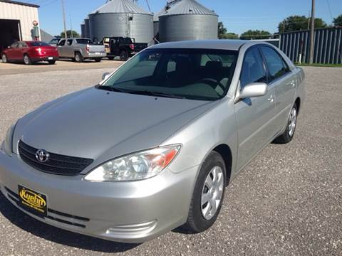 2003 Toyota Camry for sale at KUEHN AUTO SALES in Stanton NE