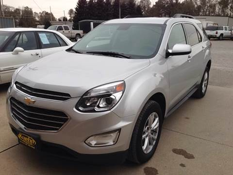 2017 Chevrolet Equinox for sale at KUEHN AUTO SALES in Stanton NE