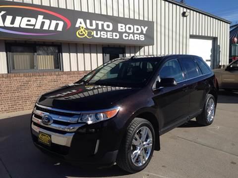 2013 Ford Edge for sale at KUEHN AUTO SALES in Stanton NE