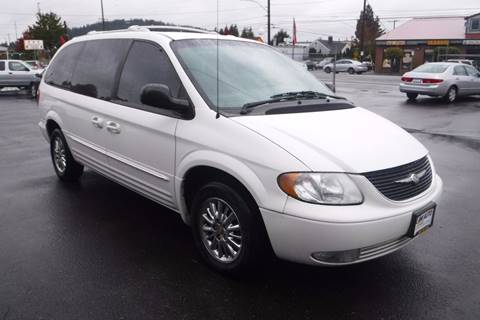 2002 Chrysler Town and Country for sale in Portland, OR
