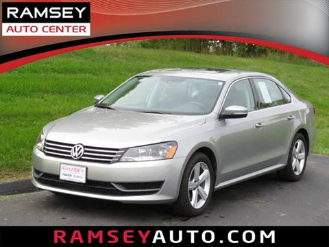 2013 Volkswagen Passat for sale in Urbandale, IA