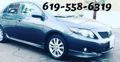 2010 Toyota Corolla for sale in San Diego CA