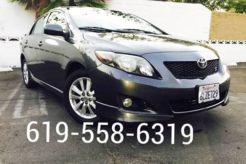 2010 Toyota Corolla for sale in San Diego, CA