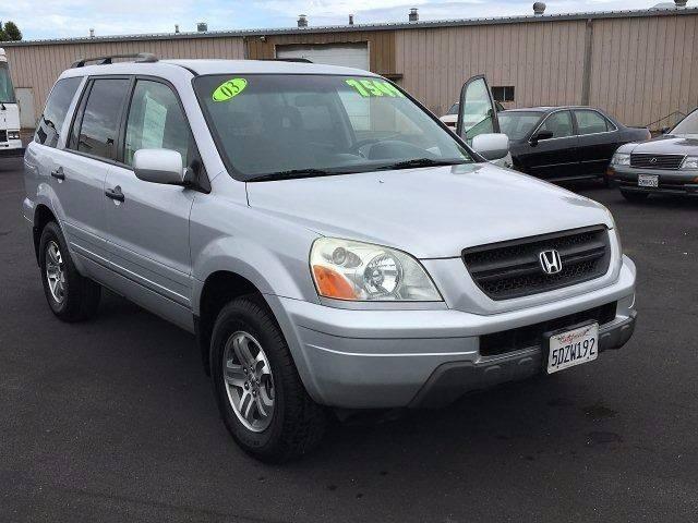 2003 Honda Pilot For Sale At Kings Auto Sales In Santa Rosa CA