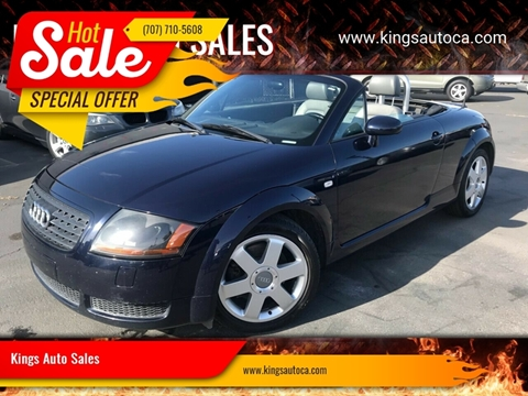 Tt Auto Sales >> Audi Tt For Sale In Santa Rosa Ca Kings Auto Sales