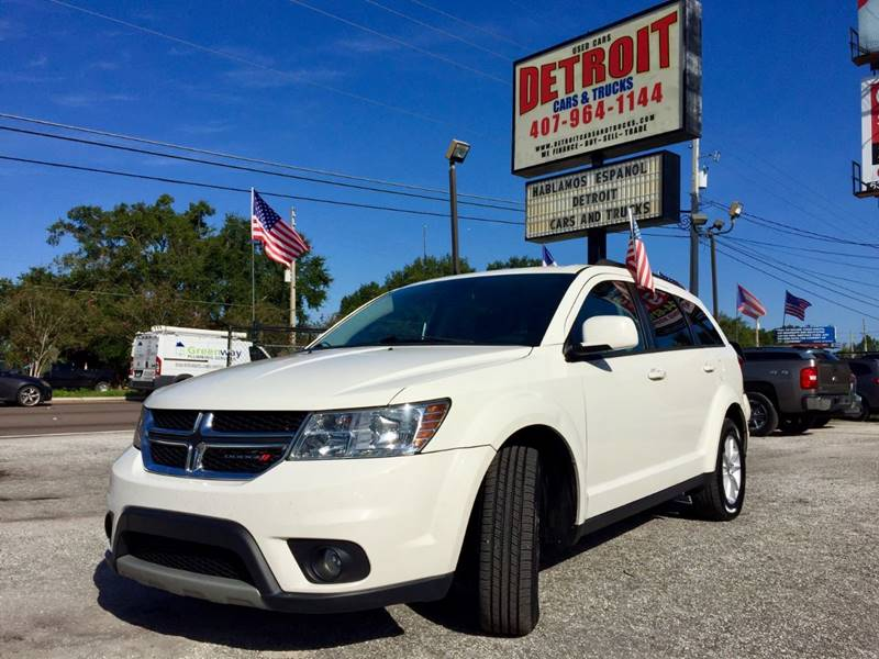 2013 Dodge Journey for sale at Detroit Cars and Trucks in Orlando FL